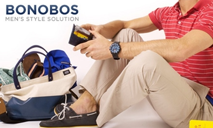 Bonobos - Dallas: $50 for $115 Worth of Better-Fitting Pants, Polos, Shoes, Belts, and More from Bonobos