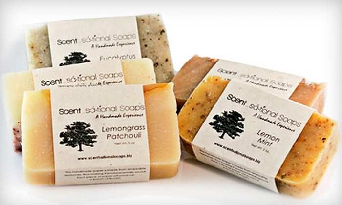 Scentsational Soaps: $15 for $30 Worth of Handmade Natural Soaps, Shea Butters, and Other Bath and Body Products from Scentsational Soaps