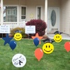 60% Off Decorative Lawn Greeting from Amy's Lawn Mail