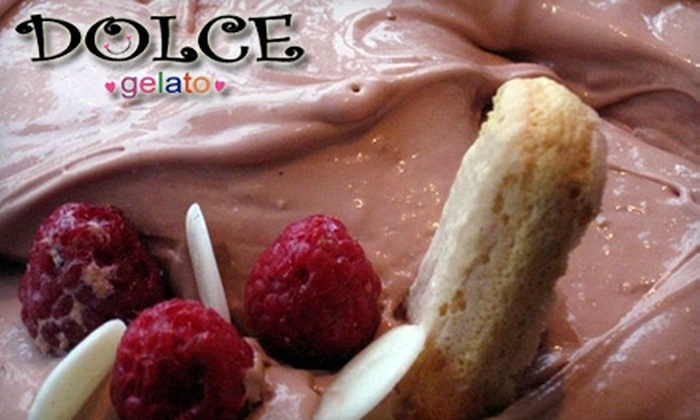 Dolce Gelato - Laguna Beach: $7 for $14 Worth of Gelato and Sweet Treats at Dolce Gelato in Laguna Beach