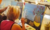 Wine and Palette - Multiple Locations: $17 for a Social Painting Class from Wine and Palette ($35 Value)