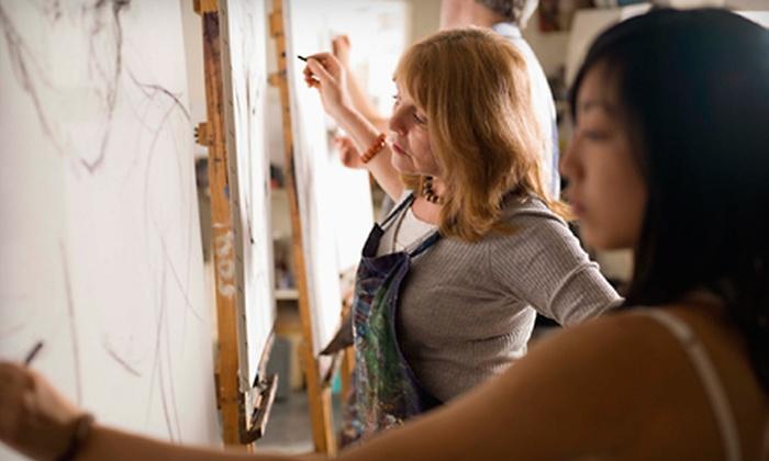 Kingston School of Art & Window Gallery - Williamsville: Full-Day Art Workshop or Six-Week Class at Kingston School of Art & Window Art Gallery (Up to 57% Off)