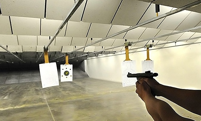 Athens Gun Club - Athens Gun Club: Unlimited Gun Range Time Package for One or Two at Athens Gun Club (Up to 57% Off)