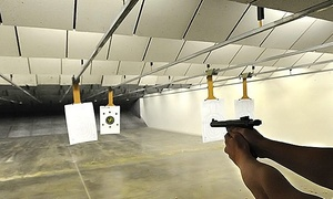 Athens Gun Club: Unlimited Gun Range Time Package for One or Two at Athens Gun Club (Up to 57% Off)
