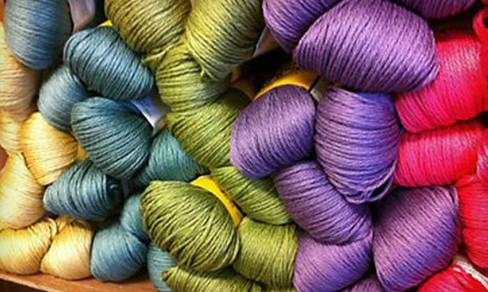 Sealed With a Kiss - Guthrie: $20 for $40 Worth of Yarn, Knitting Supplies, and Clothing at Sealed With a Kiss