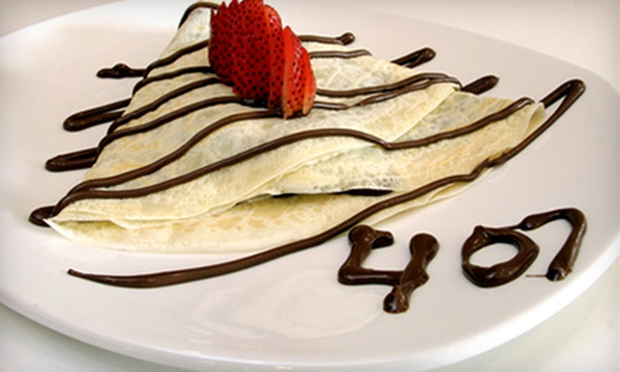 407 Cafe - LaVina: Café Food at 407 Cafe (Up to 55% Off). Two Options Available.