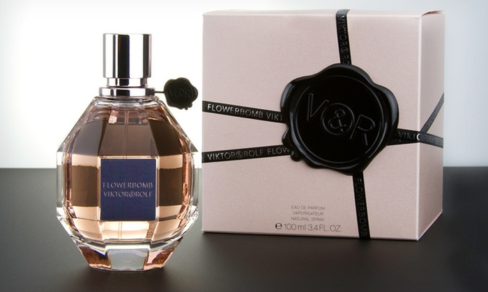 Viktor & Rolf Flowerbomb Fragrance: Viktor & Rolf Flowerbomb Eau de Parfum for Women; 3.4 Fl. Oz.
