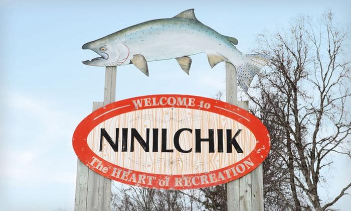 Alaska Fishing Retreat - Ninilchik: 4- or 7-Night Halibut- or Salmon-Fishing Retreat at Kenai Peninsula from Discover Alaskan Adventures