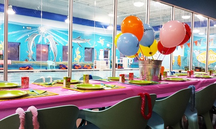 Two-Hour Pool Party for up to 24 Kids at Goldfish Swim School (Up to 56% Off)