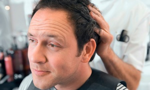 Michael's Barber Shop: Men's Haircut and Shave Packages at Michael's Barber Shop (Up to 58% Off). Three Options Available.