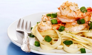Italian Cuisine At Fontana Italian Restaurant (38% Off). Two Options Available.