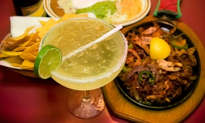 Cactus Cantina Mexican Grill: Fajitas, Seafood, Tacos, and Margaritas for Two or Four at Cactus Cantina Mexican Grill (Up to 50% Off)