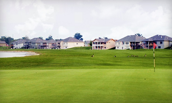 Fox Run Golf Club - Council Bluffs: 18-Hole Round of Golf for Two or Four with Cart and Range Balls at Fox Run Golf Club (Up to 51% Off)