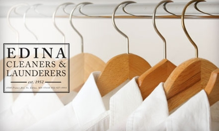 Edina Cleaners & Launderers - Edina: $10 for $25 Worth of Dry Cleaning and Laundering from Edina Cleaners & Launderers