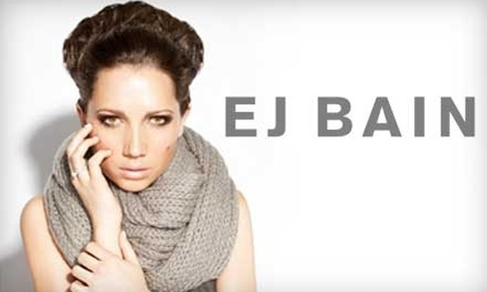 EJ Bain - Grandview: $35 for $75 Worth of Haircuts, Waxings, Facials, and More at EJ Bain in Grandview