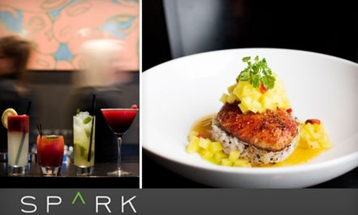 Spark Restaurant Lounge - Joaquin: $15 for $35 Worth of Modern Cuisine at Spark Restaurant Lounge in Provo