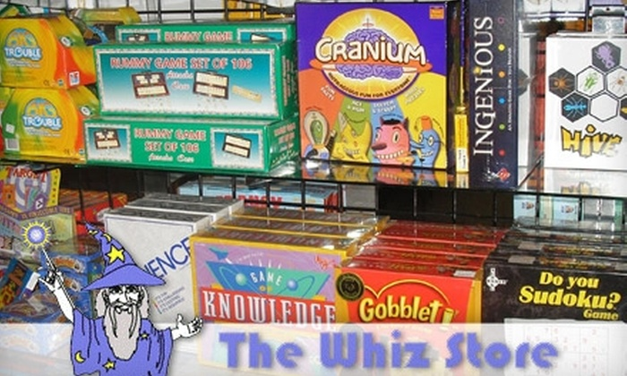 The Whiz Store - Westborough: $10 for $20 Worth of Gaming and Hobby Merchandise at The Whiz Store