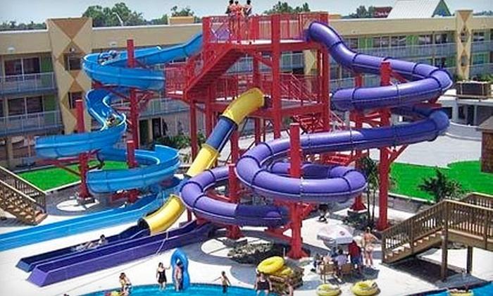Clarion Resort & Waterpark - Kissimmee: Waterpark Outing for One or Two at Clarion Resort & Waterpark in Kissimmee