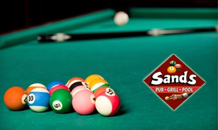 Anazeh Sands - Wyoming: $10 for $25 Worth of Pub Fare, Drinks, and Billiards at Anazeh Sands and Charley's Pub & Grill