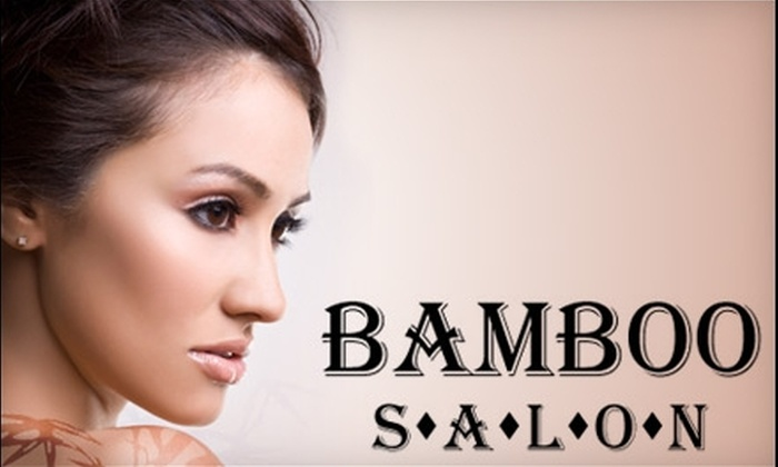 Bamboo Salon - Lighthouse Hill: $39 for a Cut, Single-Process Color, and Blow Dry at Bamboo Salon ($90 Value)