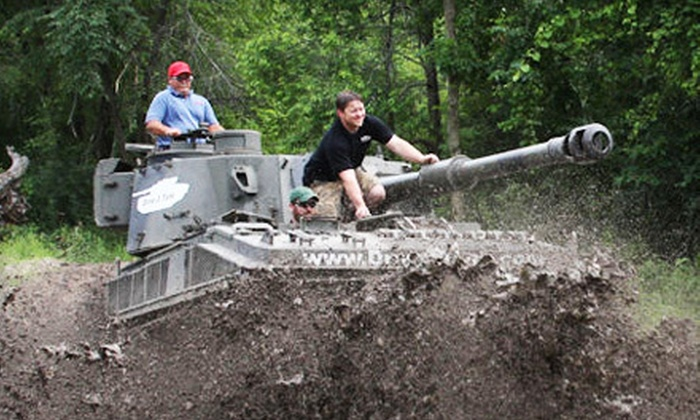 Drive A Tank - Kasota: Tank-Driving Experience for One or Two on April 13 or September 1 at Drive A Tank in Kasota (Up to 45% Off)