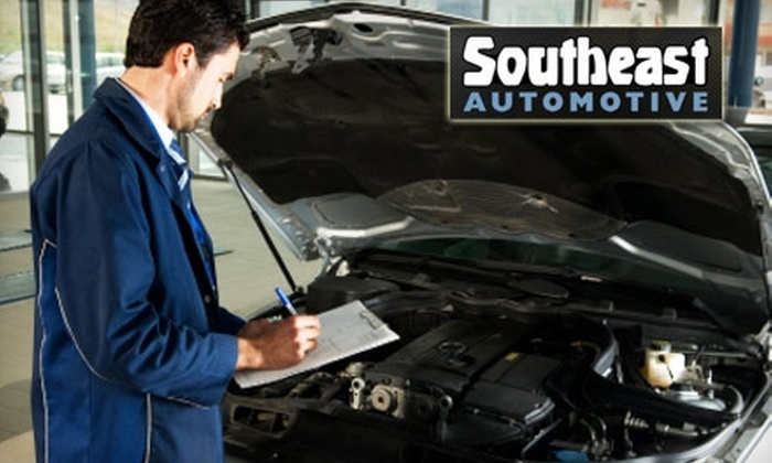 Southeast Automotive - Woodycrest: $19 Lube and Oil and Filter Change, Fluid Check and Top-Off, and Safety Inspection at Southeast Automotive ($63 Value)