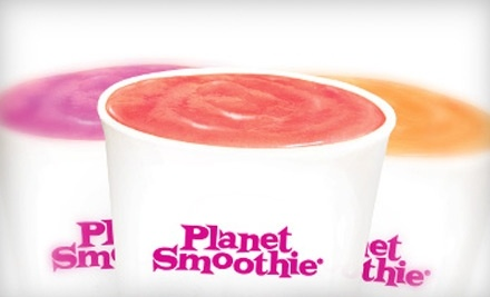 $10 Groupon to Planet Smoothie - Planet Smoothie in Charleston