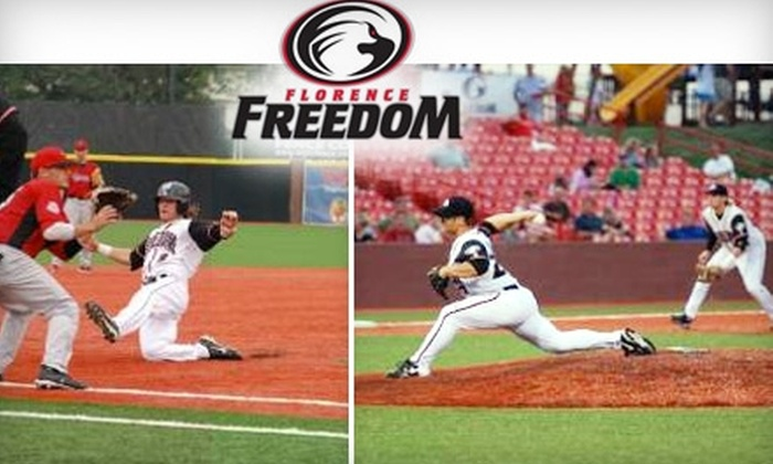 Off Florence Freedom Baseball Ticket Florence Freedom Groupon - Groupon baseball tickets