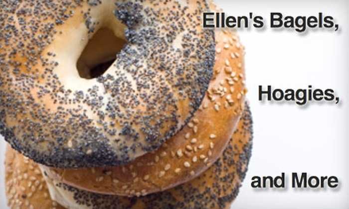 Ellen's Bagels, Hoagies, and More - Logan Square: $7 for $14 of Breakfast and Lunch Fare at Ellen's Bagels, Hoagies, and More