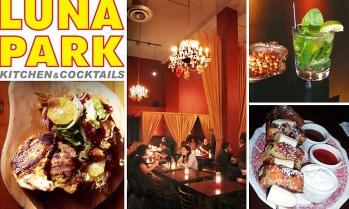 Luna Park - Melrose: $20 for $40 Worth of American Comfort Food at Luna Park