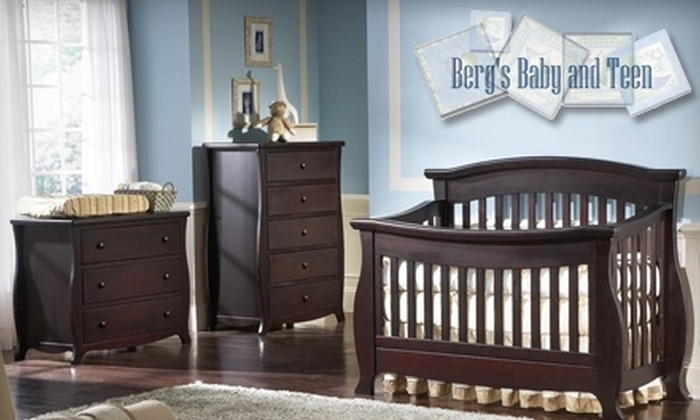 Berg's Baby & Teen Furniture - Willoughby Hills: $25 for $50 Worth of Baby Gear, or $35 for $100 Worth of Furniture, at Berg's Baby & Teen Furniture in Willoughby Hills