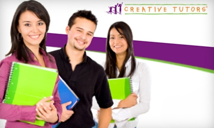 Creative Tutors - Houston: $75 for Two One-Hour Sessions from Creative Tutors ($225 Value)