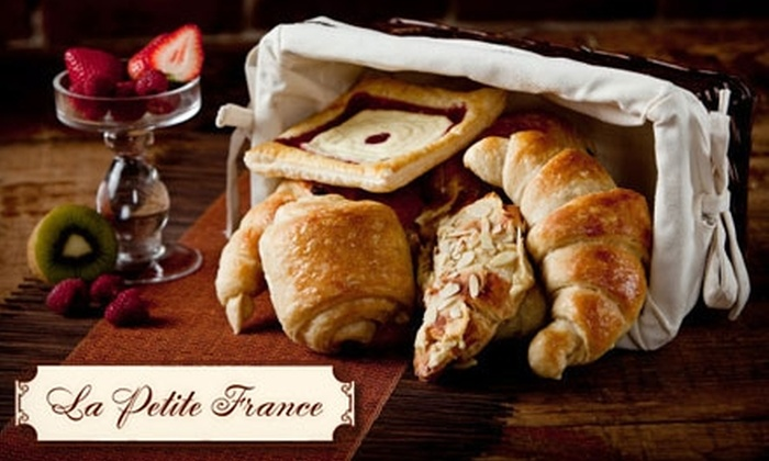 La Petite France - Multiple Locations: $5 for $10 Worth of Tarts, Pastries, and More at La Petite France