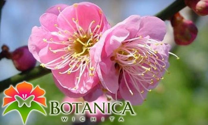 Botanica, The Wichita Gardens - Riverside: $25 for a Family Membership to Botanica, The Wichita Gardens