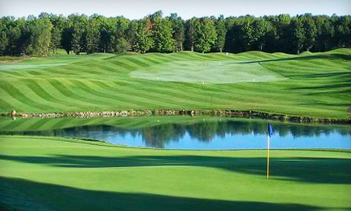Black Bear Golf Club - Multiple Locations: Golf Outing for Two or Four or Overnight Golf Getaway for Two at Black Bear Golf Club