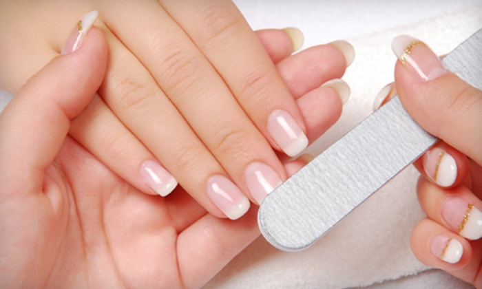 Passion Nails by Terra - Murfreesboro: Classic or Gel Mani-Pedi Package at Passion Nails by Terra in Murfreesboro