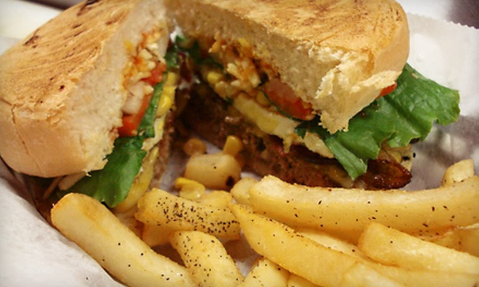 MoonCheese Burgers - Windy Hill: Burger Meal with Beer for Two or Four at MoonCheese Burgers (Up to 54% Off)