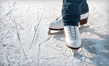 Public Ice-Skate Session and Skate Rentals for 2 ($10 value) - Iceland Ice Skating Rink in Sacramento