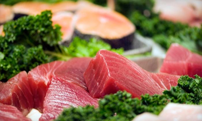 Surf & Turf Market - Harbor Bluffs: Seafood Sampler or $10 for $20 Worth of Prepared Foods at Surf & Turf Market in Belleair Bluffs