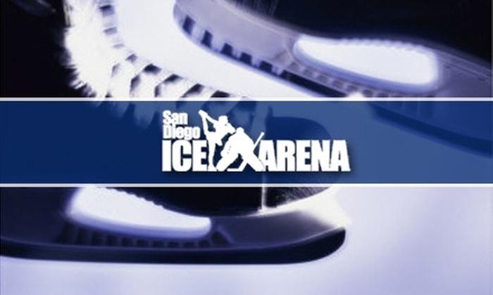 SDIA, Inc. - Mira Mesa: $15 for Three Ice-Skating Passes with Skate Rental at San Diego Ice Arena ($36 Value)