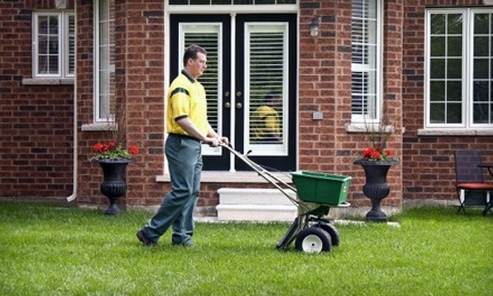 Weed Man - Rockford: $25 for Full Lawn-Fertilizing Treatment from Weed Man (Up to $71 Value)