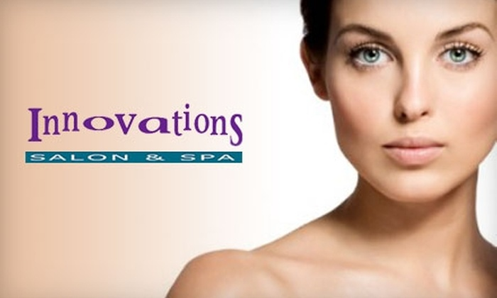 Innovations Salon & Spa - Chapel Ridge: $25 for $55 Worth of Services at Innovations Salon & Spa