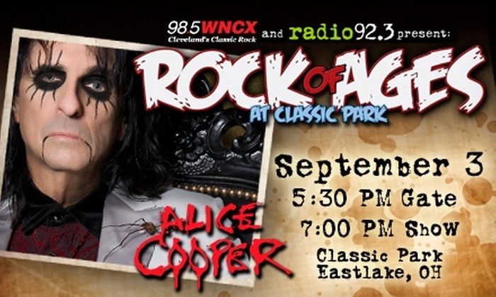 Rock of Ages - Eastlake: $20 for a Field-Level General-Admission Ticket to Rock of Ages Featuring Alice Cooper