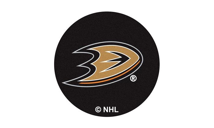Anaheim Ducks Puck Mat: Anaheim Ducks Puck Mat