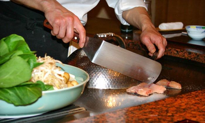 Osaka Sushi and Hibachi Steakhouse - Coon Rapids: $20 for $40 Worth of Hibachi Fare at Osaka Sushi and Hibachi Steakhouse in Coon Rapids. Six Options Available.