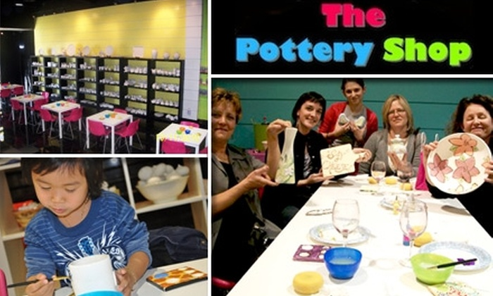 The Pottery Shop - Enterprise: $25 for $50 Worth of Paint-It-Yourself Ceramics at The Pottery Shop