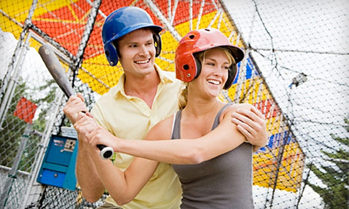 Kick City Sports Park - Springfield: Batting-Cage Package for One, Two, or Four at Kick City Sports Park in Springfield