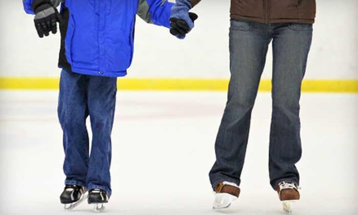 Germain Arena - Lehigh Acres: $10 for Ice Skating and Skate Rental for Two at Germain Arena in Estero ($20 Value)