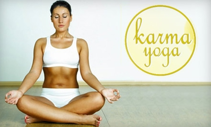 Karma Yoga - West Springfield: $35 for a Five-Pack of Yoga Classes at Karma Yoga