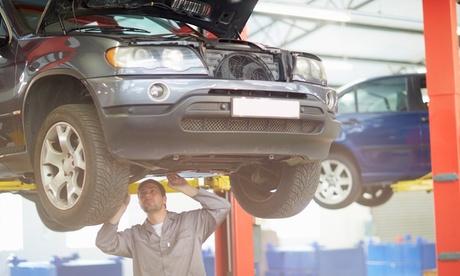 Paralelo y alineación de ruedas y revisión de 29 puntos con opción a lavado de coche desde 12,95 € en Motor Tres Cantos Oferta en Groupon